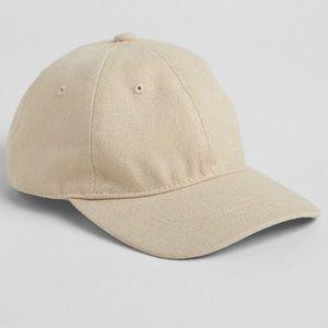 Gap Twill Weave Metallic Finish Baseball Hat